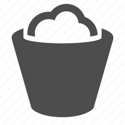 garbage, recycle bin, trash, trashcan icon