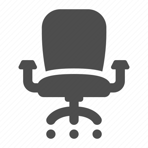 chair, office, seat icon