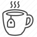 beverage, cup, drink, hot, tea, tea bag, teabag icon