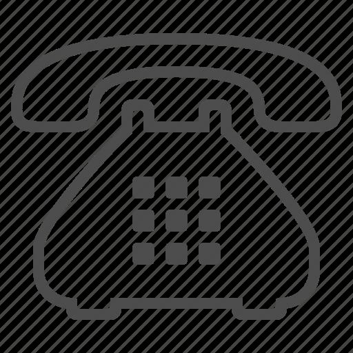 landline, phone, telephone icon