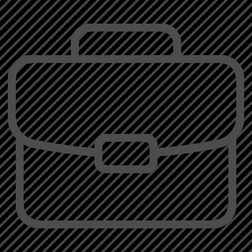 briefcase, luggage, portfolio, suitcase icon