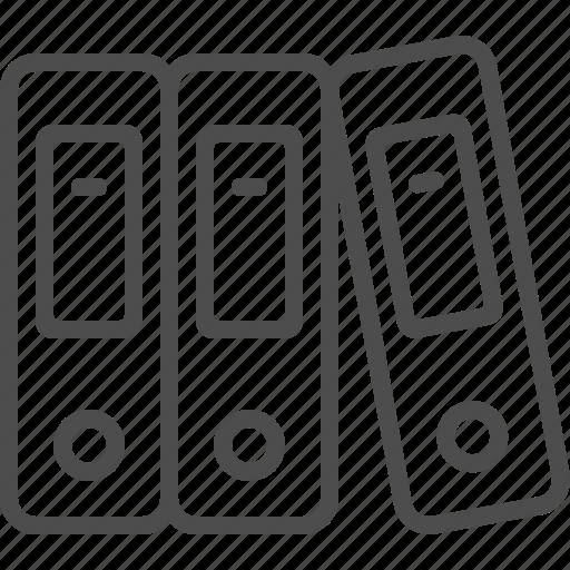 file, folder, ring binder icon