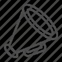 bullhorn, loudspeaker, megaphone icon