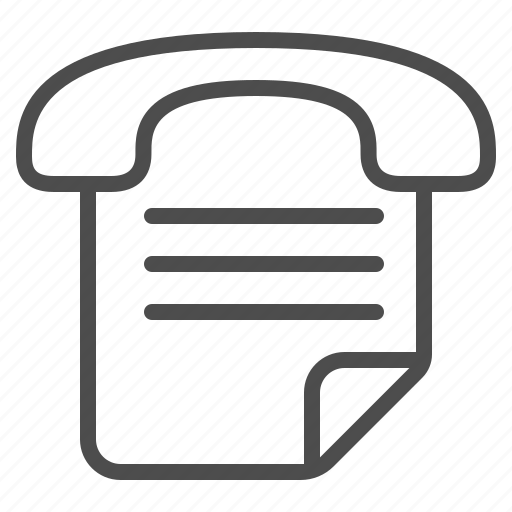 document, fax, fax machine, handset, page, telephone icon