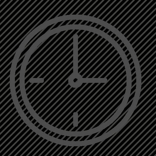 clock, wall clock icon