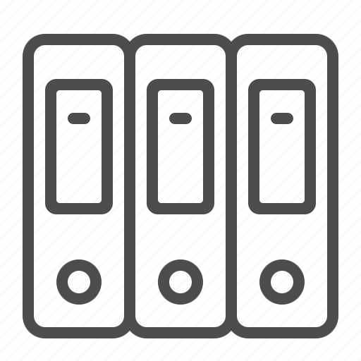 file, folder, office, ring binder icon