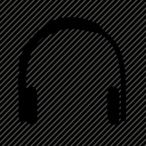 headphones, job, office, secretary, work icon