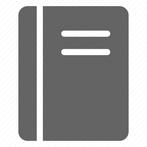 note, notebook, notepad icon