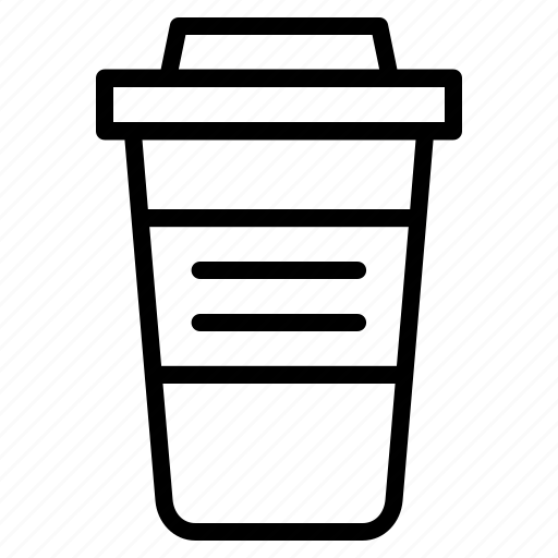 coffee, cup, drink, glass, office, refresh, stuff icon