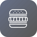 break, burger, eat, food, office, stuff icon