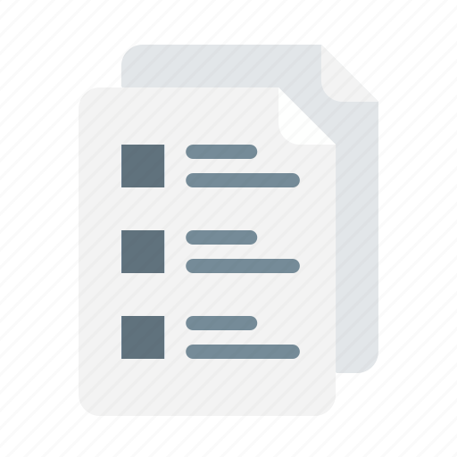 analysis, office, paper, project, report, stuff icon