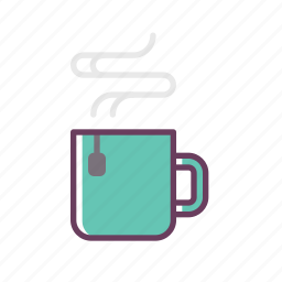 coffee, cup, drink, hot, mug, refreshment, stuff icon