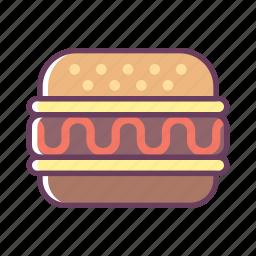 break, burger, eat, food, office, stuff icon