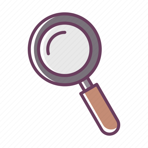find, magnify, office, research, search, stuff icon