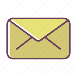 communication, email, letter, mail, office, stuff icon