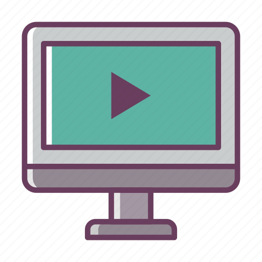computer, music, pc, play, refresh, stuff, video icon