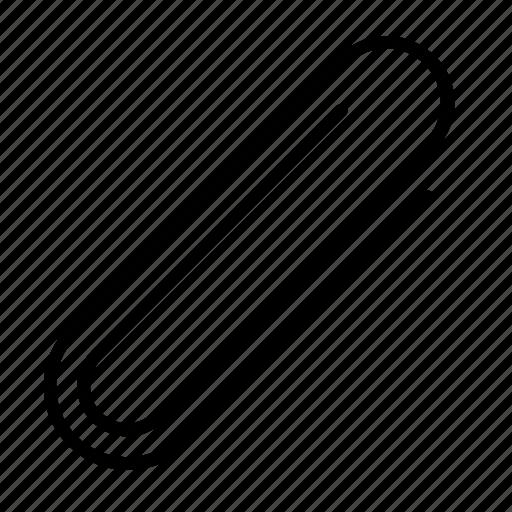 clip, metalic, office, paper, paper clip icon