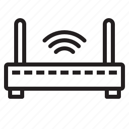 business, office, report, router, tool, wifi icon