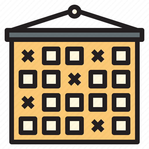 business, calendar, office, report, tool icon