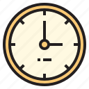 business, clock, office, report, tool icon