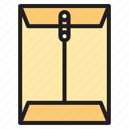 business, envelope, office, report, tool icon