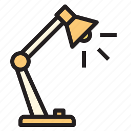 business, lamp, office, report, tool icon