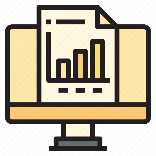 business, office, online, report, tool icon