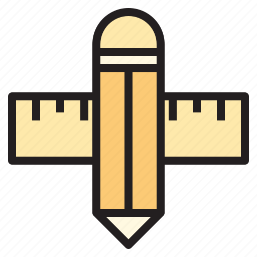 business, office, pencil, report, tool icon