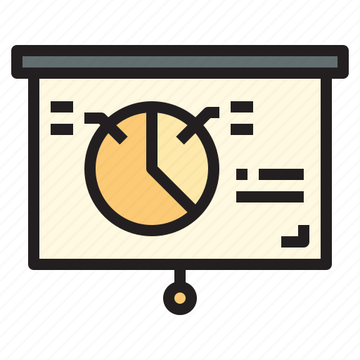 business, office, presentation, report, tool icon