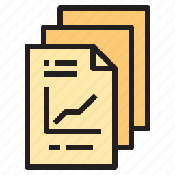 business, files, office, report, tool icon