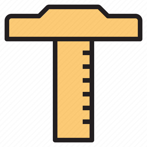 business, office, report, ruler, tool icon