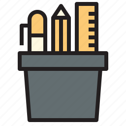 box, business, office, report, stationary, tool icon