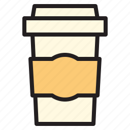 away, business, coffee, office, report, take, tool icon