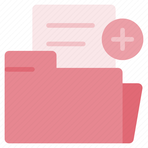 add, document, foder, new, paper, plus, sheet icon