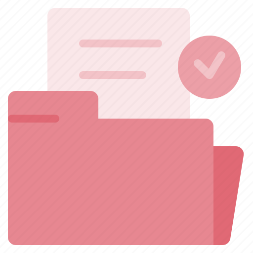 arrow, check, document, file, foder, paper, sheet icon