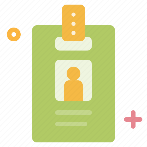 business, card, employee, id, identity icon