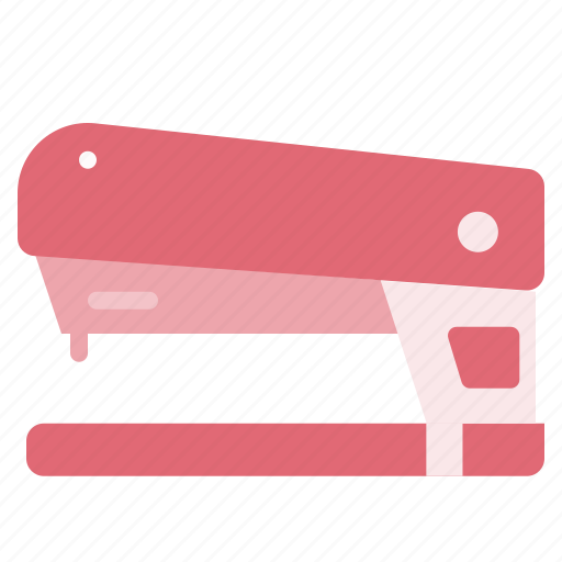 desk, metal, office, paper, stapler, work icon