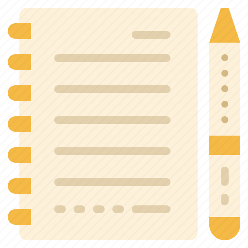 Document, page, paper, pen, sheet, stationery icon - Download on Iconfinder
