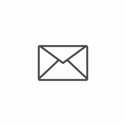 document, envelope, mail, office, tools icon
