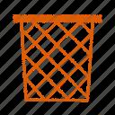 bin, dust icon