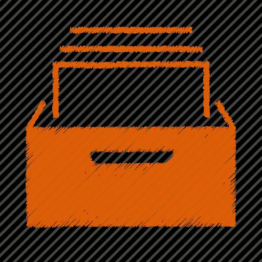 box, mail icon