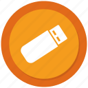 drive, flash, pendrive, us icon