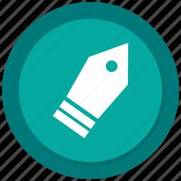 business, graphics, pen, steel pen icon