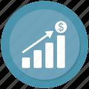 analytics, bar, chart, graph, growth