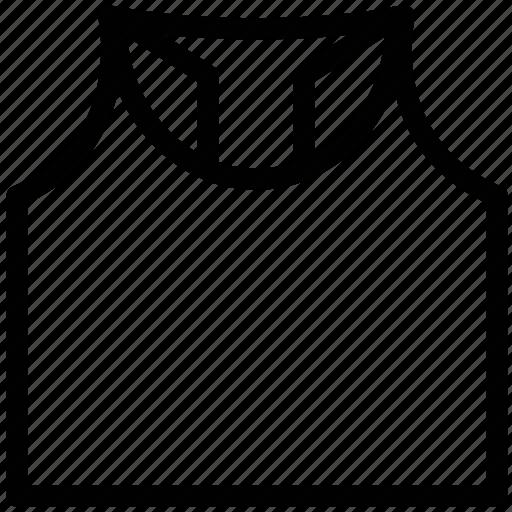 reflective, underclothes, underwear, vests icon