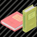 books, education, knowledge, literature icon