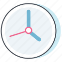 bureau, business, clcok, office, time, watch, work icon