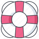 bureau, help, life guard, lifebuoy, office, support, work icon