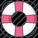 bureau, help, life guard, lifebuoy, office, support, work icon