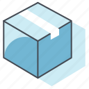 box, bureau, delivery, job, package, parcel, work icon